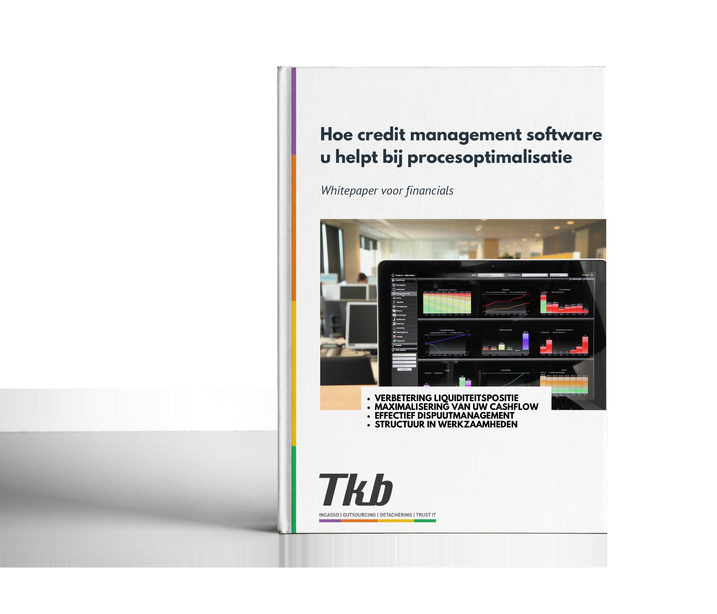 Hoe credit management software u helpt bij procesoptimalisatie